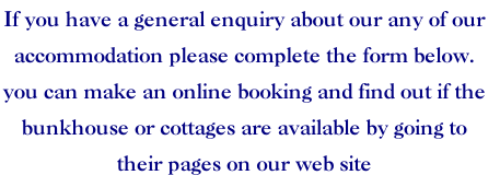 If you have a general enquiry about our any of our 